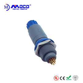 P Series PAG 2-14 pin Male Medical Application Electrical Wire Plastic Plug Connectors